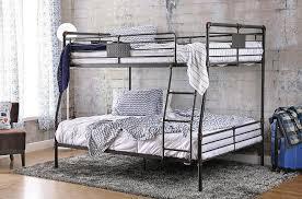 reston metal extra long full over queen bunk bed