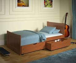 twin bed with storage for kids transparent window bedroom wooden