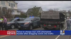 100 Dump Trucks Videos Police Man Carried Woman Into Path Of Truck CBS Boston