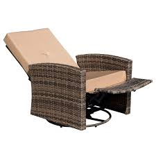 Outsunny Rattan Wicker Swivel Rocking Outdoor Recliner Lounge Chair Generations Outdoor Wicker Swivel Rocker Ding Armchair Astoria Glider Summer Classics Fniture Elegant Bamboo Fniture Java Handmade Design Hanover Orleans Rocking Chair Set Of 2 In Lazboy Breckenridge Resin Piece Patio Brick Red With All Weather Sunbrella Cushions 3piece Allweather Chat Sahara Sand Waverly Yabird Lloyd Flanders Contempo Recliner Corvus Eolie 3piece Side Table Severn Lounge Sunbrite Sonoma Goods For Life Presidio