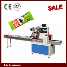 Hot Sale Horizontal Automatic Energy Bar Packaging Machine