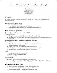Resume Templates On Microsoft Word Administrative Assistant Template Executive Example Medium Size
