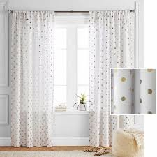 Twist And Fit Curtain Rod Walmart by Buy Better Homes And Gardens Polka Dots Panel At Walmart Com