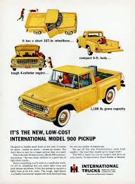 It's The New, Low-Cost International Model 900 Pickup, 1963 ...