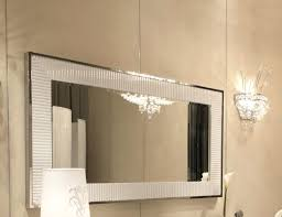 wall mirrors lighted makeup mirror wall mounted sided