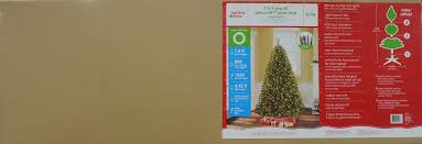 75 Ft Slim Christmas Tree by Feel Real Prescott Pencil Slim Hinged Tree With 350 Clear Lights