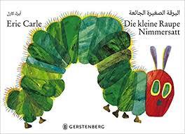 die kleine raupe nimmersatt arabisch deutsche ausgabe