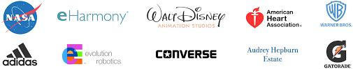 Mighty Ant DataWorks client logos showing Nasa eHarmony Disney American Heart Association