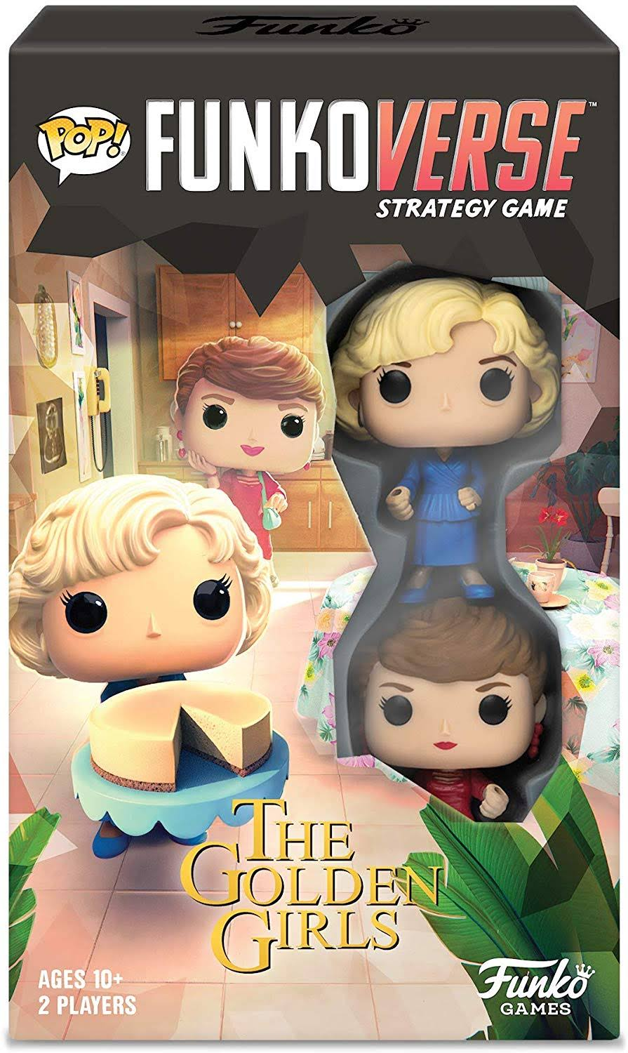 Funkoverse the Golden Girls Strategy Game - 2pk