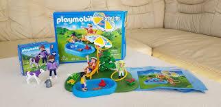 playmobil city 4140 planschbecken kleiner pool 70263 kuh