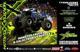 100 Monster Monster Truck X Tour Show Coming To Tyson Events