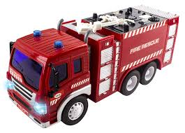 100 Toy Fire Truck Remote Control Rescue Heroes Fully Functional With Lights