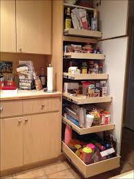 Corner Kitchen Cabinet Storage Ideas by Kitchen Design Kitchen Dark Brown Wooden Corner Kitchen Pantry