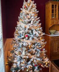 Flocked Artificial Christmas Trees Sale by Alpine Estates Flocked Fir Artificial Christmas Tree Tree Classics