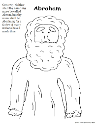 Abraham Sarah And Isaac Coloring Pages Did You Know That The Genesis Story Of