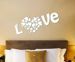 Bedroom Acrylic Mirror Wall Art