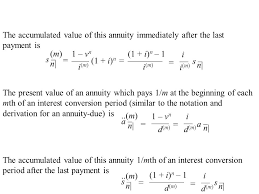 Sinking Fund Formula Derivation by Sections 4 1 4 2 4 3 4 4 Suppose The Payments For An Annuity