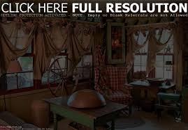 Primitive Curtains For Living Room by Primitive Decor Clearance Iron Blog