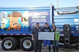 100 Lenz Truck PLV South Junior Wins Mural Contest Scholarship Papillion Times