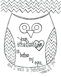Free Valentine Coloring Pages To Print Printables Day Bible Verse Owl Page Sheets Printable Full