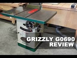 Used Grizzly Cabinet Saw by Grizzly G0690 Table Saw Review Updated 2017