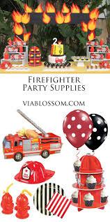 100 Fire Truck Birthday Party Invitations Man Sam Supplies Fighter
