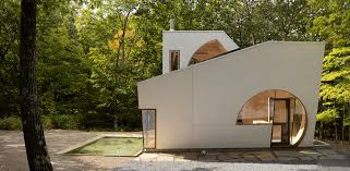 100 Holl House Steven S Contemporary Cabin In The Woods Architizer