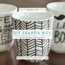 How To Make Cute DIY Sharpie Mugs
