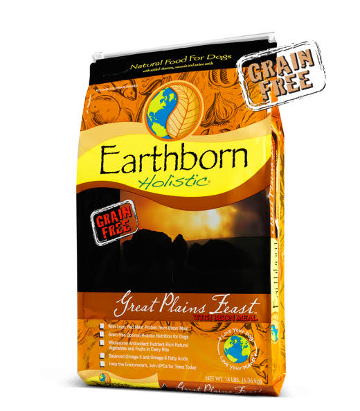 Earthborn Holistic Dog Food - Great Plains Feast