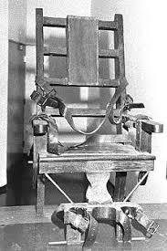 Electric Chair Executions New York State by 1907 The Electric Chair