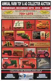100 Smith Miller Trucks Wednesday December 26th 700 Lot Farm Toy Auction Bauer Auction