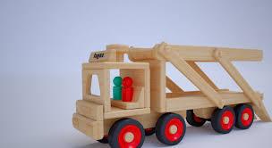 100 Fagus Trucks CarrierTruck Wooden Toys