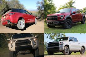 Poll: Pickup Truck Or SUV? Which Do You Prefer For Off-Roading ... Trucks And Suvs Are Booming In The Classic Market Thanks To Ford Suv Or Truck Roush Best Compact Luxury Porsche Macan 8211 2017 10best Us October Sales Report Win Cars Lose Cleantechnica Texas Auto Writers Association Names Best Trucks Cuvs Nissan Cape Cod Ma Balise Of Toyota End Joint Trucksuv Hybrid Development Motor Trend Squatted Youtube Mercedesbenz Gls450 Offers Experience Form S Rv Trailers On Beach At Nipomo Pismo Gmc And Henderson Chevrolet
