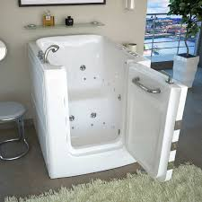 Jetted Bathtubs For Two by Access Tubs Walk In Air Hydro Jetted Massage Tub