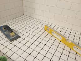 fix my shower floor ceramictilepro