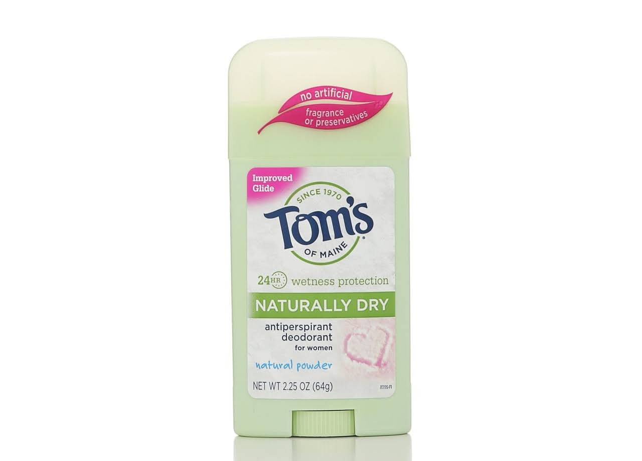 Tom's of Maine Women's Antiperspirant & Deodorant - Natural Powder, 2.25oz