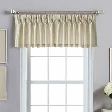 Buy Pinch Pleat Valances from Bed Bath & Beyond