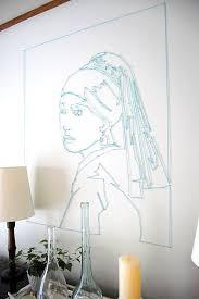 View In Gallery Portrait String Wall Art DIY