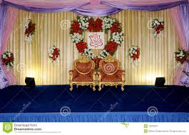 Wedding Stage Stock Image Of Floral Designing