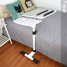 Laptop Desk Stand Bedside Table Tray Pc Ipad Swivel Bedside