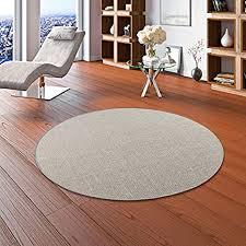 sisal natur teppich dekowe grau rund in 7 größen größe 133 cm rund