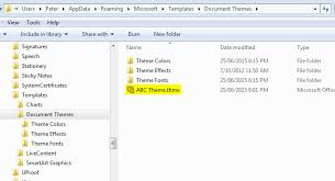 How to install MS fice theme files Cordestra