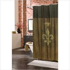 Heritage Blue Curtains Walmart by Fleur Dis Lis Shower Curtains Walmart Com Veratex Inc Fleur