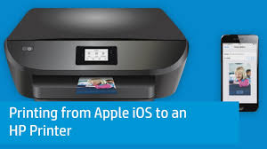 Printing from Apple iOS to an HP Printer