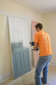 Best Airless Paint Sprayer For Ceilings by Priming And Painting Our Trim And Doors With A Paint Sprayer