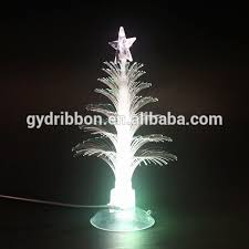 White Christmas Tree With Blue Lights As Eve Decoration