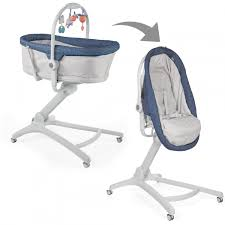 Chicco Baby Hug 4 In 1 Crib Bouncer High Chair Chair - Navy
