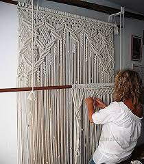 Inspirational Design Ideas Macrame Door Curtain How To Make A