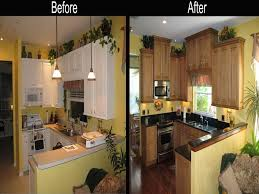 Image Of Interior Kitchen Remodel Before And After
