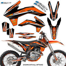 kit deco 125 sx 2004 06 ktm graphics decals emblems ebay
